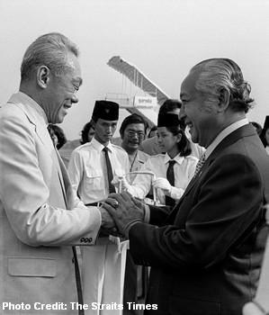 lee kuan yew and suharto