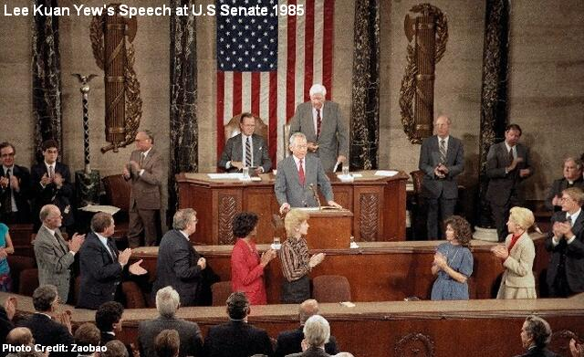 lee kuan yews speech at us senate 1985