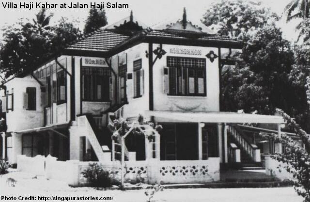 villa haji kahar at jalan haji salam