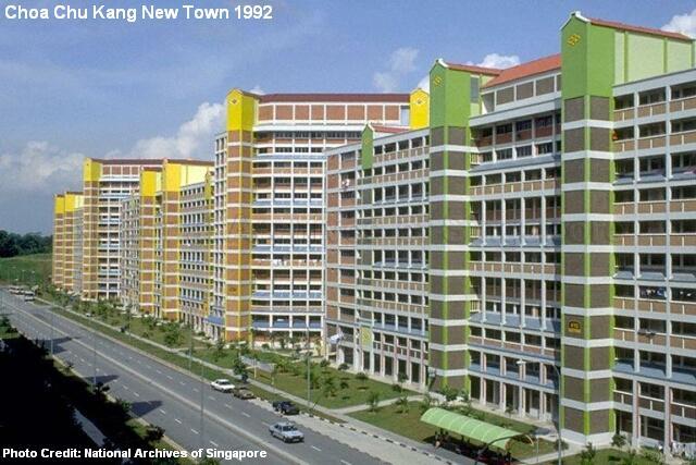 choa chu kang new town 1992