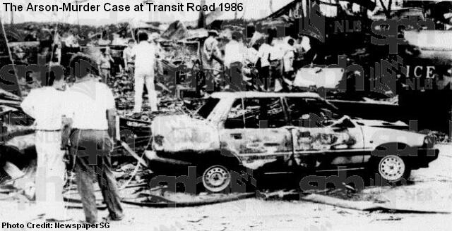 transit road arson 1986