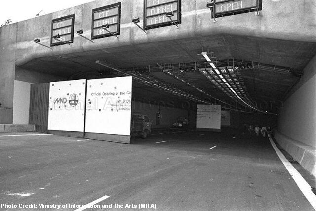 sg50 1991 central expressway tunnels