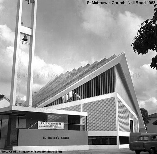 st matthews church neil road 1963