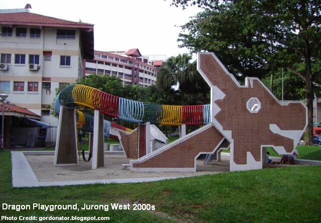 dragon playground at jurong west 2000s