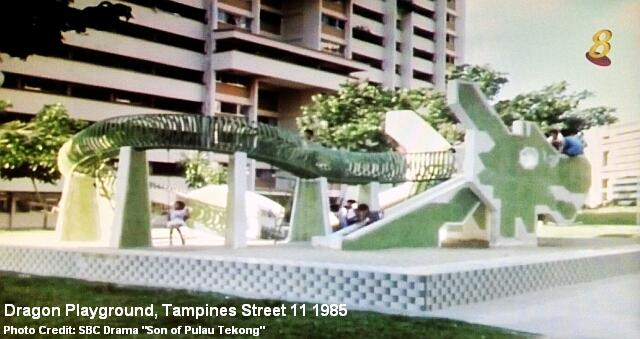 dragon playground at tampines street 11 1985