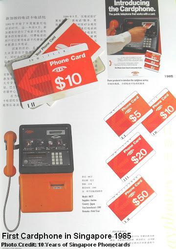 first telecom phonecard 1985