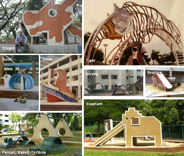 old animal-themed playgrounds singapore