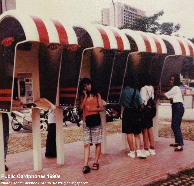 public cardphones 1990s