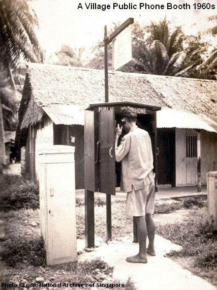 public phone 1960s
