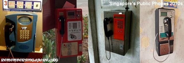 public phones singapore 2010s