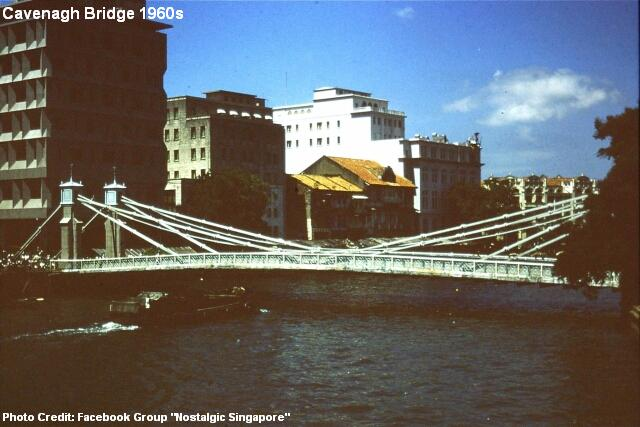 cavenagh bridge 1960s