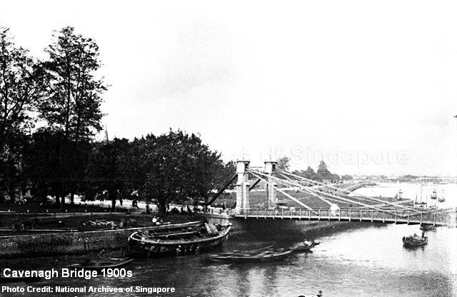 cavenagh bridge early 20th century