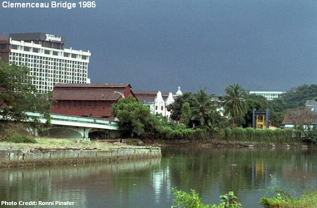 clemenceau bridge 1985