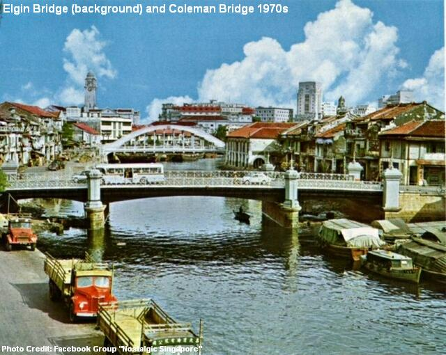 The Heritage Bridges Singapore River S Grand Old