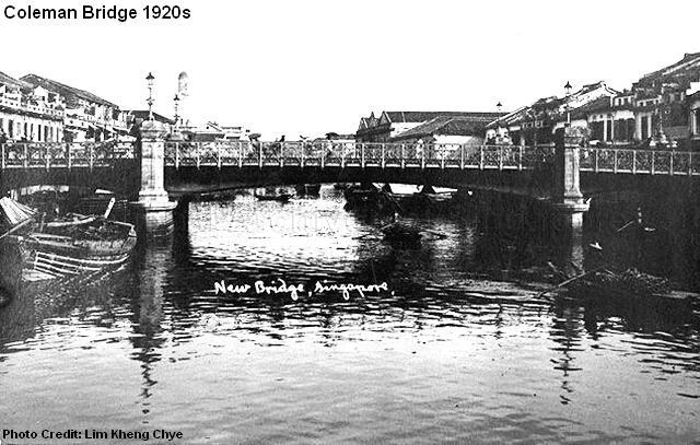 coleman bridge 1920s