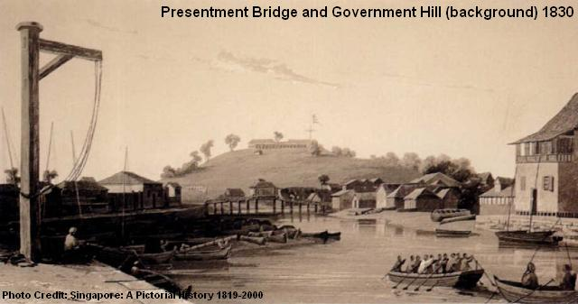 presentment bridge government hill 1830