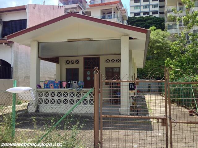 cambridge estate truro road kampong house