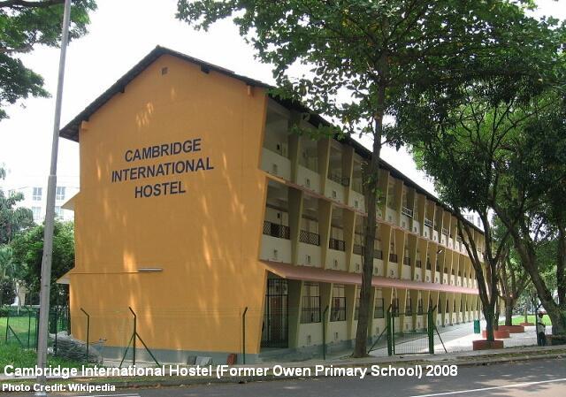 cambridge international hostel former owen primary school