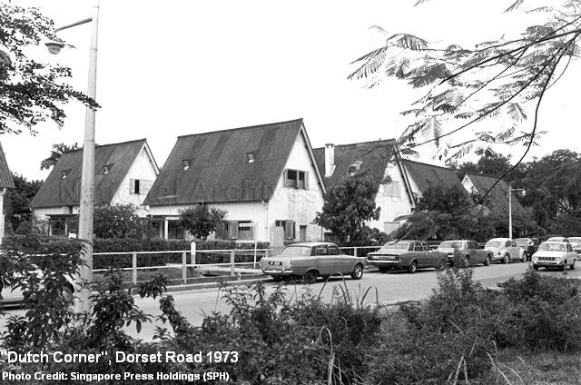 dutch corner houses dorset road 1973