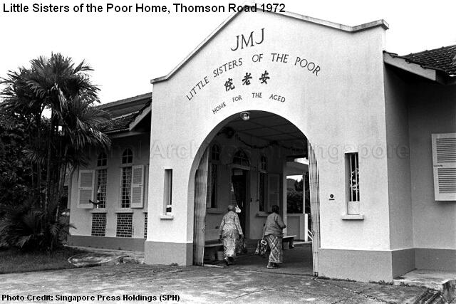 little sisters of the poor home thomson road 1972