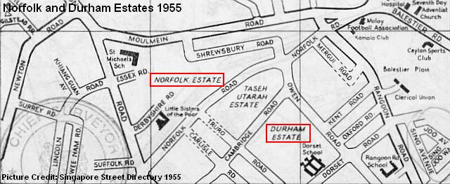 norfolk durham estates 1955