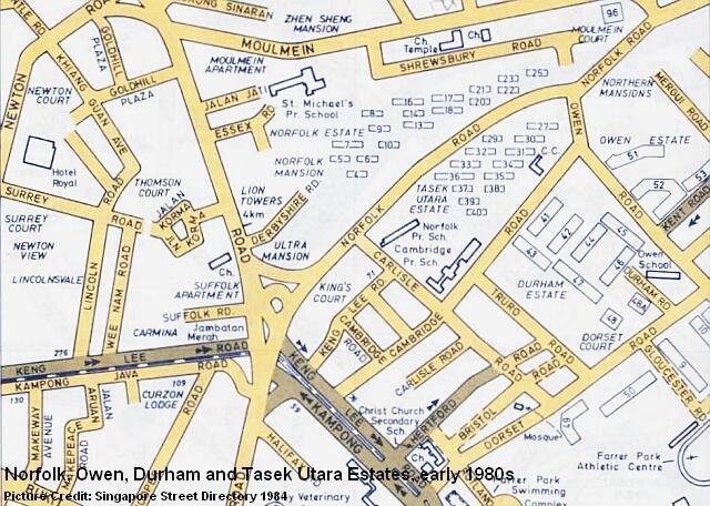norfolk owen durham estates early 1980s