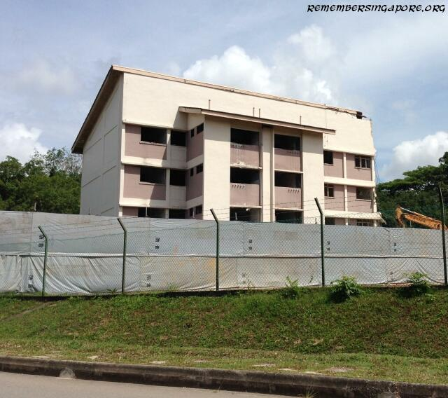 demolition of former jalan kayu rural centre blocks2