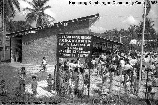 kampong kembangan community centre 1963