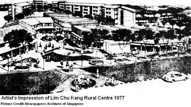lim chu kang rural centre plan 1977