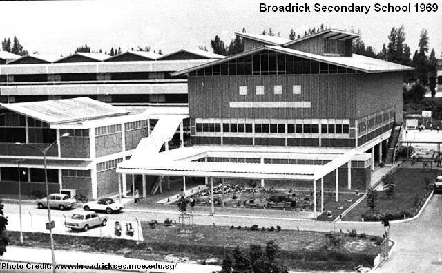 broadrick secondary school 1969