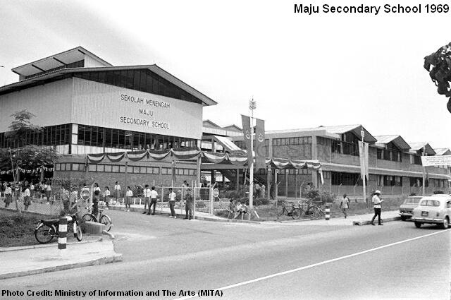 maju secondary school 1969