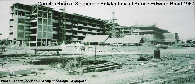 construction of singapore polytechnic 1957