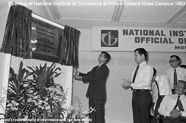 opening of national institute of commerce 1983