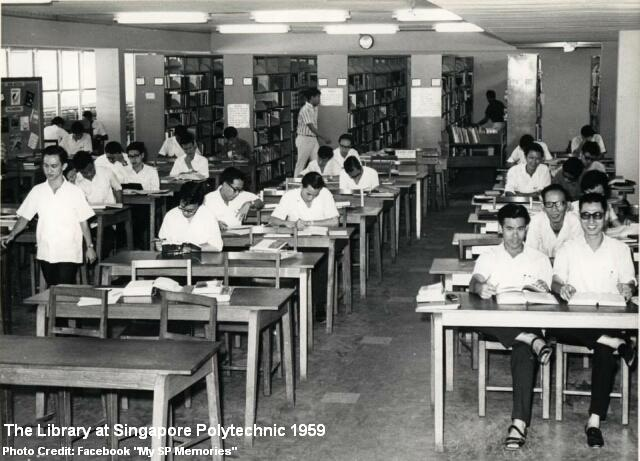 singapore polytechnic library 1959