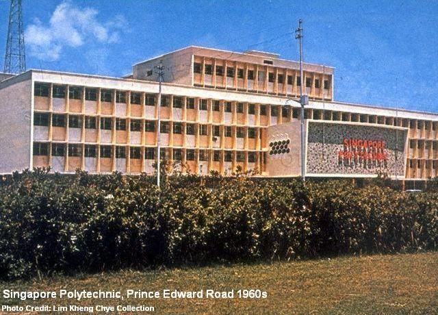 singapore polytechnic prince edward road 1960s