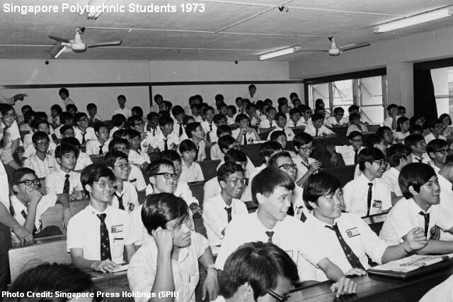 singapore polytechnic students 1973