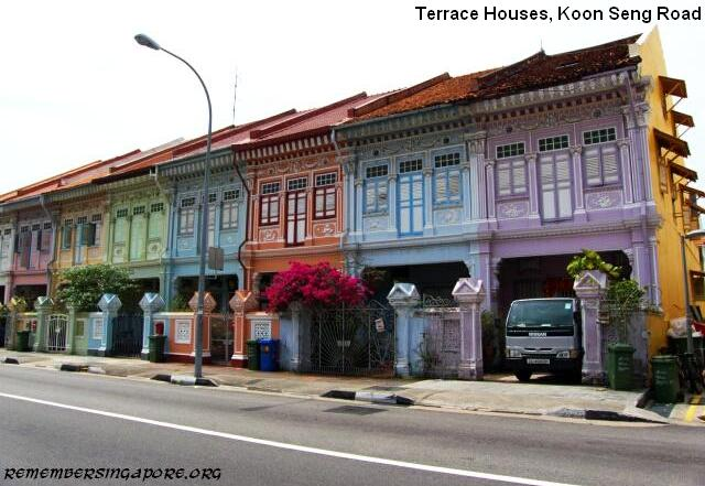 Koon seng road joo chiat terrace houses remember singapore for Terrace house singapore