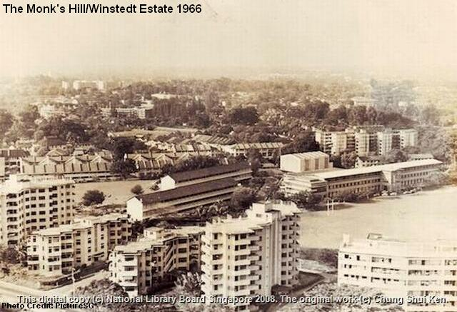 monks hill and winstedt estate 1966