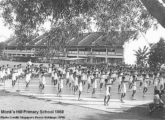 monks hill primary school 1968