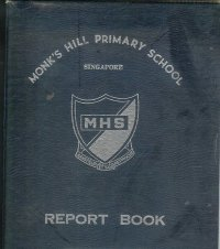 monks hill primary school report book