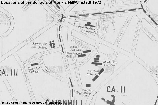 monks hill winstedt map 1972