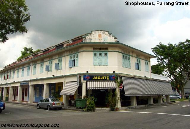 shophouses pahang street