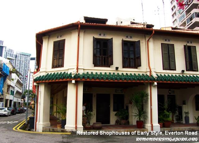 tanjong pagar everton road early style shophouses