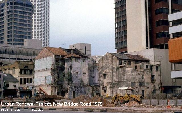 urban renewal project new bridge road 1979