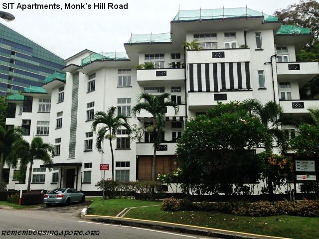 Famous Apartments Sit Apartments Old Schools And A Famous Hawker Centre At Monk's .