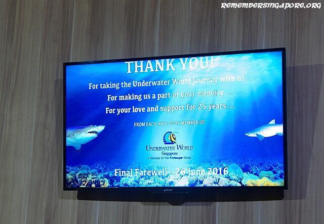 underwater world closure