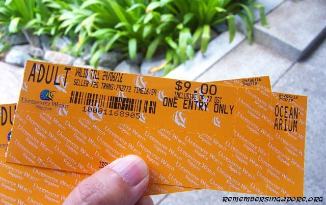 underwater world tickets