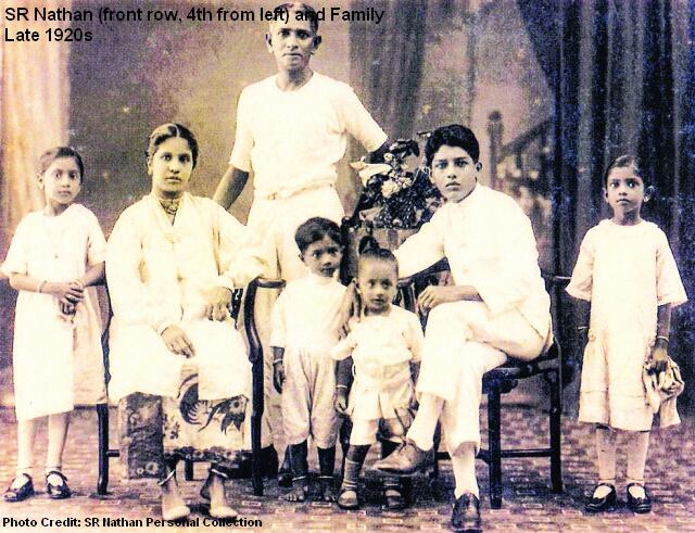 sr nathan family late 1920s