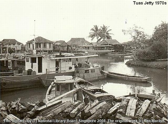 tuas jetty 1970s