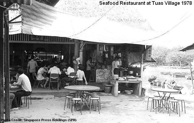 tuas village seafood restaurant 1978